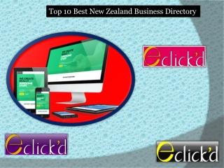 Top 10 Best New Zealand Business Directory