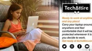 Embossed Laptop Case - Tech Attire