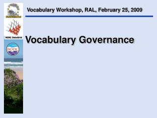 Vocabulary Governance