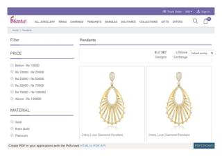 Buy jewelry pendant designs - Pendant design