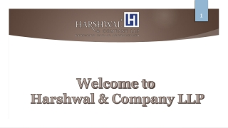 State & Local Government Audit Services – Harshwal & Company LLP