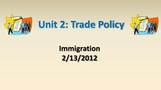 Unit 2: Trade Policy
