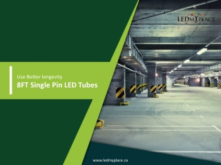Why to Choose 8ft LED Tube Light for Indoor Lighting?