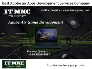 Best Adobe air Apps Development Services Company