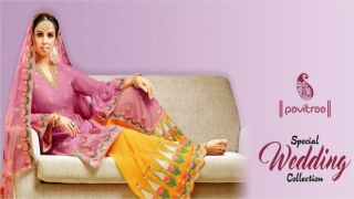 Special wedding salwar suit collection