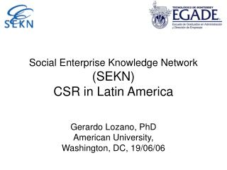 Social Enterprise Knowledge Network
