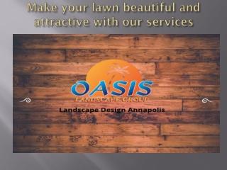 How to create landscape design Annapolis