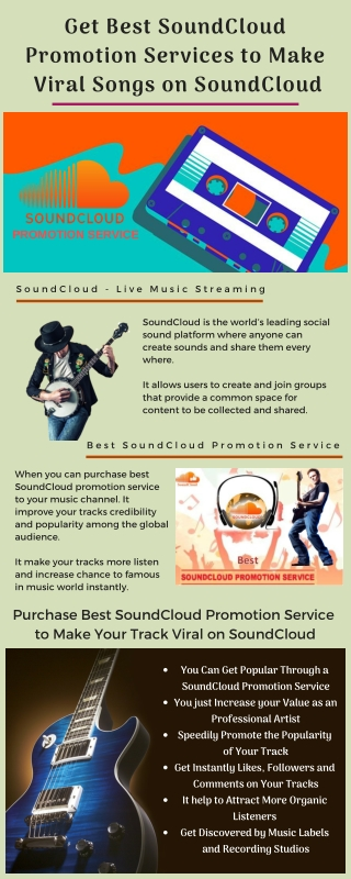 Get Best SoundCloud Promotion Services to Make Viral Songs on SoundCloud