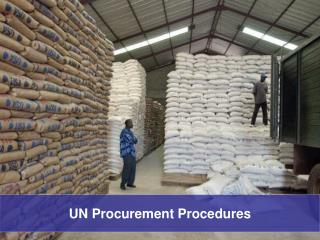 UN Procurement Procedures