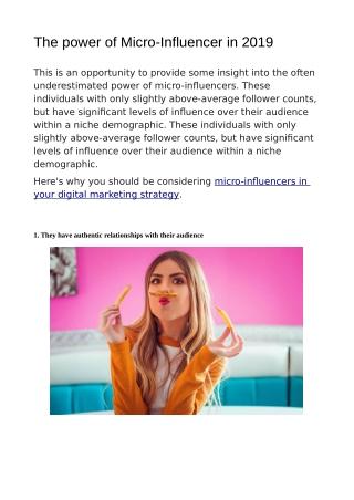 Influencer Marketing Canada