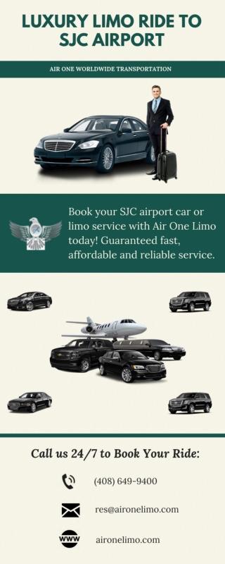Luxury Limo Ride to SJC Airport
