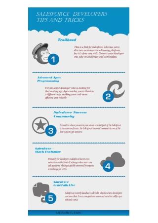 Salesforce Developer Tips and Tricks For Learning Salesforce