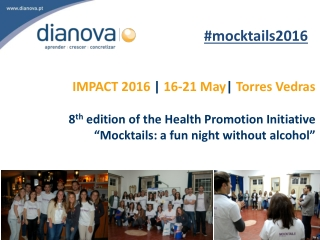 Dianova Results Evaluation Mocktails 2016