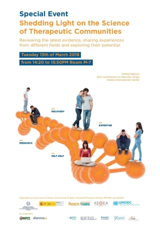 Special Event Therapeutic Communities CND UNODC 2018