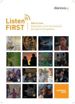 Dianova Listen First International Campaign CND UNODC 2018