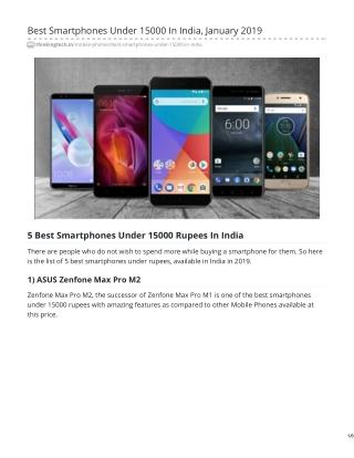 Uploading Best Smartphones Under 15000 In India