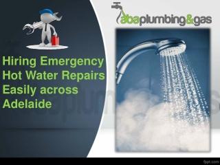 Hiring Emergency Hot Water Repairs In Adelaide