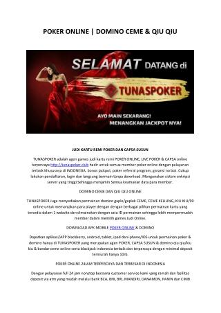 Agen Poker Online Terpercaya di Indonesia