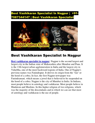 best vashikaran specialist in nagpur