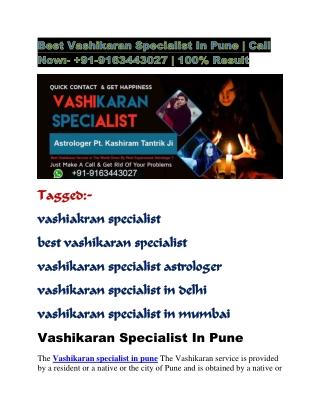 best vashikaran specialist in pune