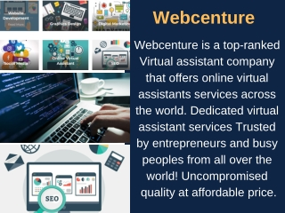 Cheap Virtual Assistant - Webcenture