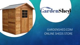 Timber Sheds, Absco Sheds, Easy Sheds Online