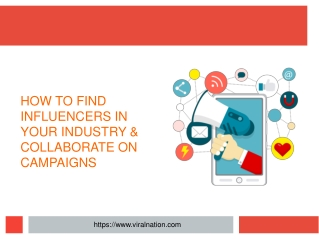 Social influencers agency