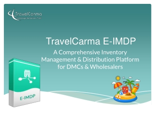 TravelCarma Inventory Management & Distribution Platform
