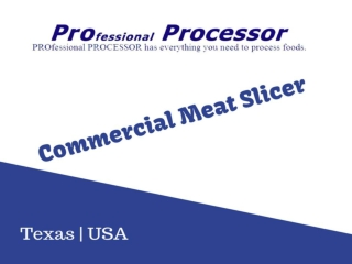 All models of commercial meat slicer - Texastastes