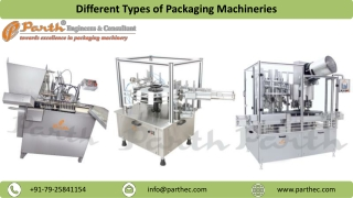 Different Types of Packaging Machineries