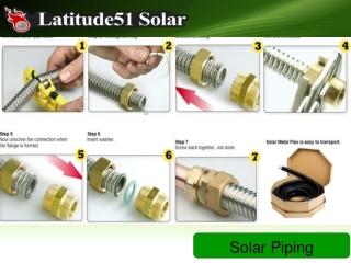 Solar Piping