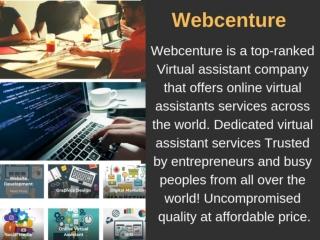 24 7 virtual assistant - Webcenture