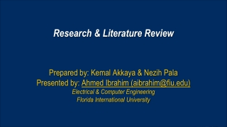 WRITING THE LITERATURE REVIEW 11