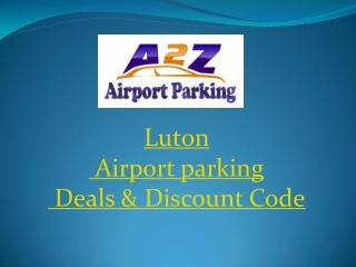 Luton Airport parking Deals