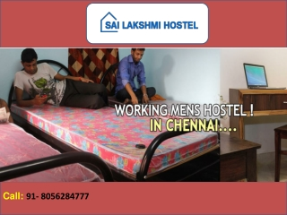 Best Mens Hostel in Chennai