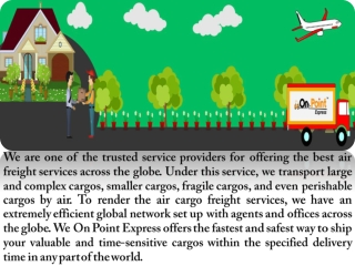 Tips When Picking Air Freight Administration