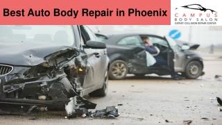 Phoenix Collision Center - Campus Body Salon