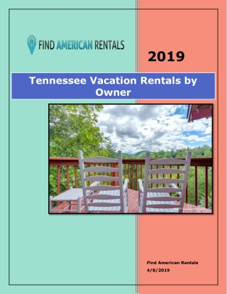 Tennessee Vacation Rentals by Owner