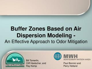 Buffer Zones Based on Air Dispersion Modeling - An Effective Approach to Odor Mitigation