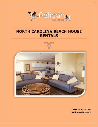 North Carolina Beach House Rentals
