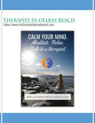 Therapist in Delray Beach