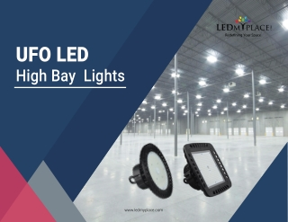 Why Choose UFO LED High Bay Lighting for Warehouses?