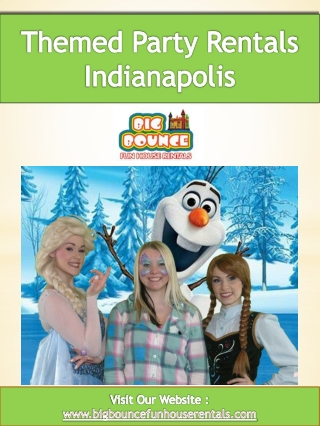 Themed Party Rentals Indianapolis