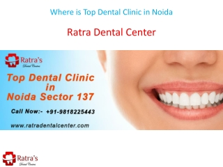 Where is Top Dental Clinic in Noida