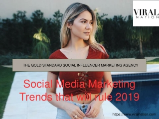 Top influencer agencies