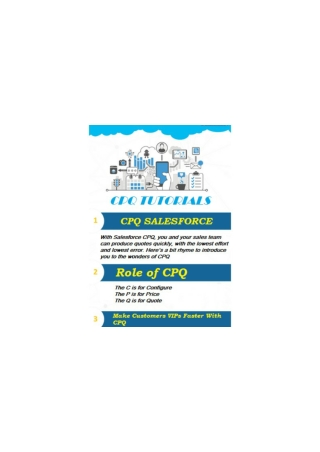 know How to Install Salesforce CPQ?