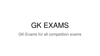 GK-Exams