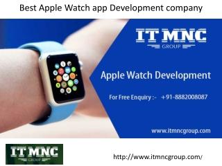 Best Apple Watch app Development company / 8882008087