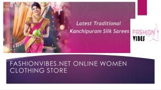 Buy Kanchipuram Saree, Wedding Silk Saree Online at Best Price
