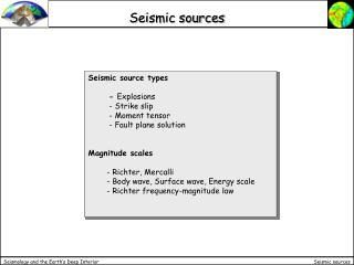 Seismic sources